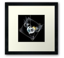 King Nothing Framed Print