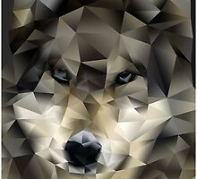 Abstract Wolf by lawleypop