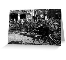 How many Bikes Greeting Card