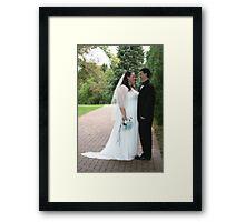 Wedded Bliss Framed Print