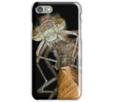 Eclosing of the red damselfly iPhone Case/Skin