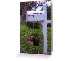 Red Bubble Mail Greeting Card