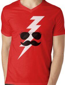 Boots Electric Mens V-Neck T-Shirt