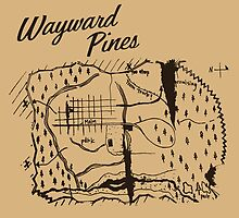 Wayward Pines - Map by ervinderclan