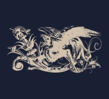 Griffin & Lizard by Zehda