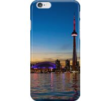 Toronto Skyline at dusk iPhone Case/Skin