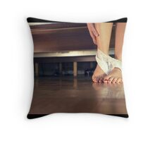 delicate details Throw Pillow