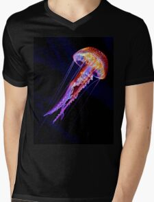 Jellyen Mens V-Neck T-Shirt