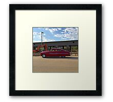 Classic Red Framed Print