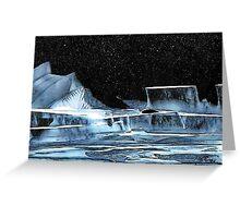 Icy Slopes Greeting Card