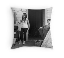 Movin' Out Throw Pillow