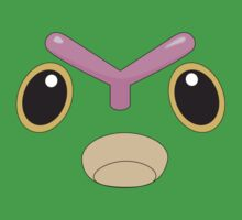 Caterpie Face by FlyNebula