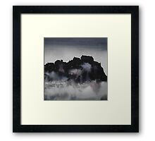 Edinburgh Castle Darkness 3 Framed Print