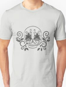 Orchid Eye Skull T-Shirt