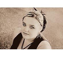 Teenager Photographic Print