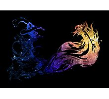 Final Fantasy X logo universe Photographic Print