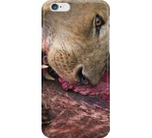 Lion's Meal iPhone Case/Skin