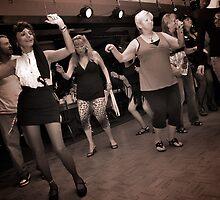 Dancin the Electric Slide by Wendy Mogul
