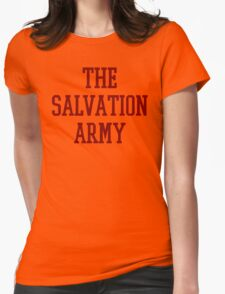 Salvation Army College Womens Fitted T-Shirt