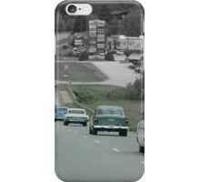 Driving Back In Time iPhone Case/Skin