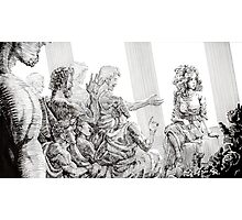 The Odyssey: Penelope and Suitors Photographic Print