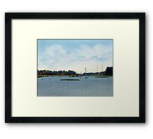 Pendleton Ferry Framed Print