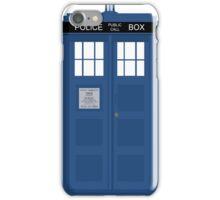 The Doctors TARDIS iPhone Case/Skin