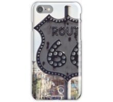Route 66 Sign iPhone Case/Skin