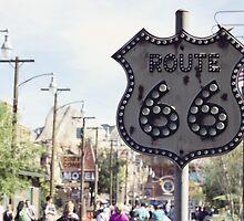 Route 66 Sign by faithgrady