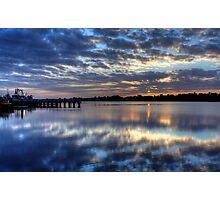 Sunrise in Lake Entrance Photographic Print