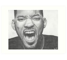 Will Smith Art Print