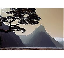 Milford Sound New Zealand Photographic Print