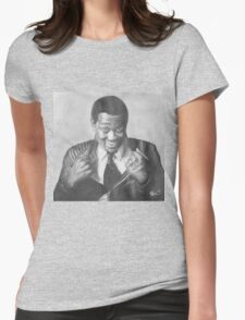 Luther Vandross Womens Fitted T-Shirt
