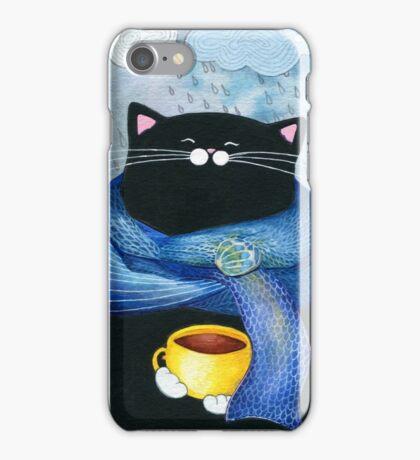 Rainy Day Coffee  iPhone Case/Skin