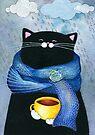 Rainy Day Coffee  by Annya Kai