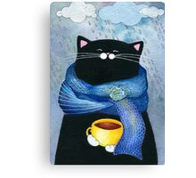 Rainy Day Coffee  Canvas Print