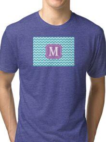 Chevron M Tri-blend T-Shirt