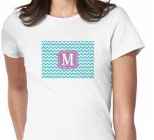 Chevron M Womens Fitted T-Shirt