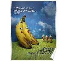 Nuts and bananas Poster