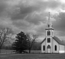 White Country Church by Mark Van Scyoc