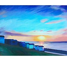 Whitstable Beach Photographic Print