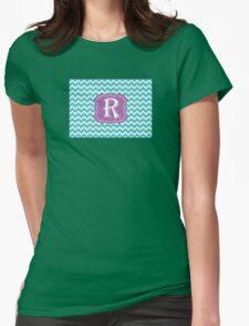 Chevron R Womens Fitted T-Shirt