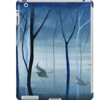 Witches Flying Low Through the Forest iPad Case/Skin