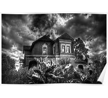 Black and White Vision of the House  Poster