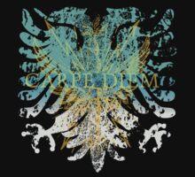 Carpe Diem Griffin Heraldry by Zehda