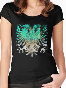 Carpe Diem Griffin Heraldry Women's Fitted Scoop T-Shirt