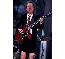 Angus Young AC/DC Photographic Print