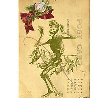 Day Of The Dead Dancer Cinco De Mayo by designsbycclair