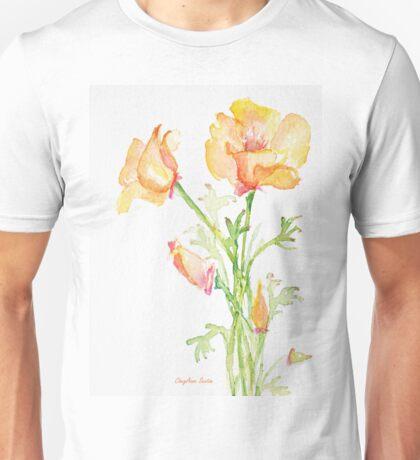 Bunch of California Poppies Unisex T-Shirt