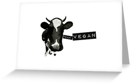 Vegan Cow by OOPSY